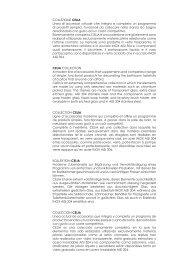 COLLEZIONE CELIA Linea di accessori attuale che integra e ...