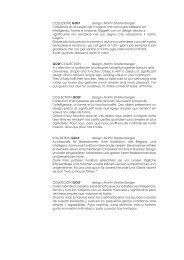 COLLEZIONE GOLF design: Martin Streitenberger Collezione di ...