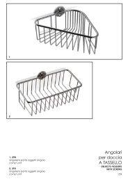 porta oggetti doccia (tassello)