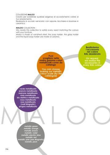 Maaloo New - OML accessori per il bagno
