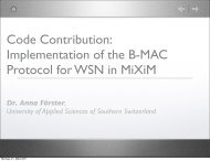 Code Contribution: Implementation of the B-MAC Protocol for WSN ...