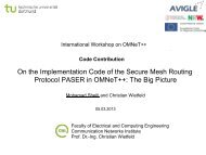 On the Implementation Code of the Secure Mesh Routing Protocol ...