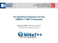 An OpenFlow Extension for the OMNeT++ INET Framework