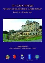 programma FRASCATI 2007.qxd - Omniameeting