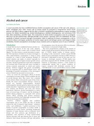 Review Alcohol and cancer - Omniameeting