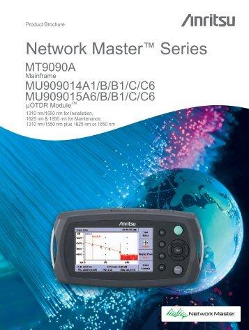 MU909014A/A1/B/B1/C/C6, MU909015A6/B/B1/C/C6 uOTDR Module