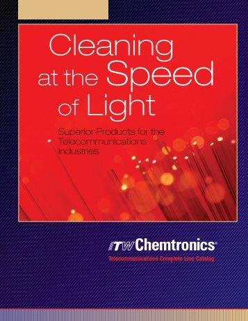at the Speed - Chemtronics