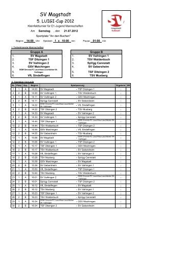 Spielplan E1-Jugend - SGM Omonia-1.FCLL04-Vaihingen