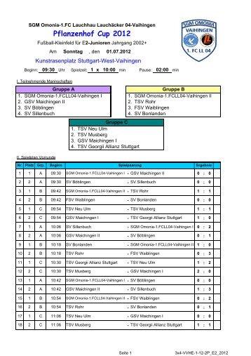 Ergebnisse - SGM Omonia-1.FCLL04-Vaihingen