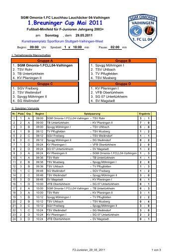 1.Breuninger Cup Mai 2011 - SGM Omonia-1.FCLL04-Vaihingen