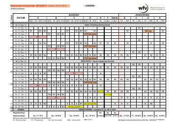 Rahmenterminkalender 2012/2013 - SGM Omonia-1.FCLL04 ...