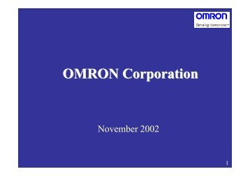 Others - Omron