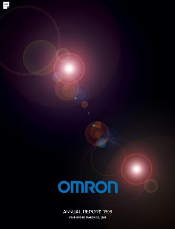 Annual Report 1998  - Omron