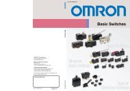 Basic Switches - Omron