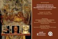 Program of the symposium