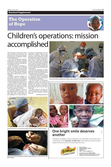 Operation Hope - 27 May 2014