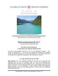 Weihnachtsbotschaft 2011.pdf - OMSPIRIT – Magazin
