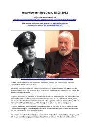 Interview mit Bob Dean, 18.03.2012 - OMSPIRIT – Magazin