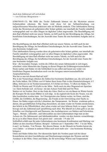 weiter pdf - OMSPIRIT – Magazin