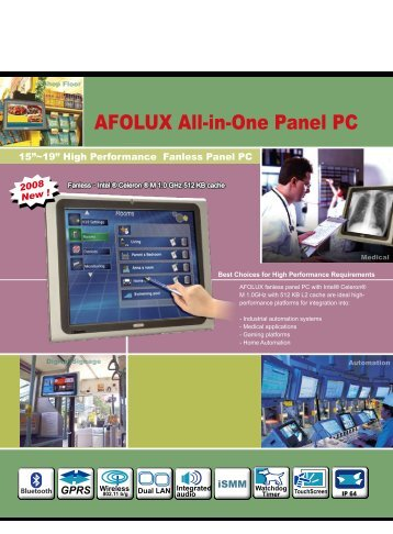 AFOLUX All-in-One Panel PC - OMTEC