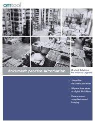 Trade & Logistics Solutions Brochure - Omtool