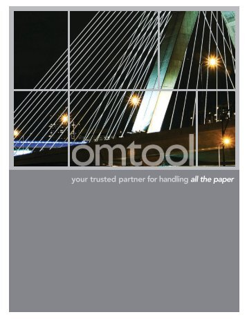 Omtool Corporate Brochure