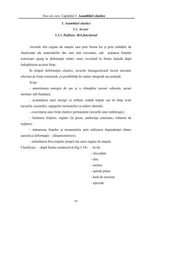 Capitolul 5 Asamblari elastice