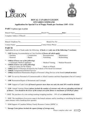 Royal Canadian Legion - Ontario Command
