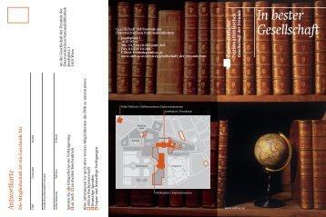 In bester Gesellschaft - Österreichische Nationalbibliothek