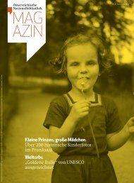 Magazin 2 / 2013 - Österreichische Nationalbibliothek