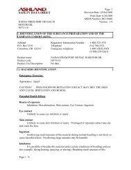 SAFETY DATA SHEET - Flagshiphawaii.com
