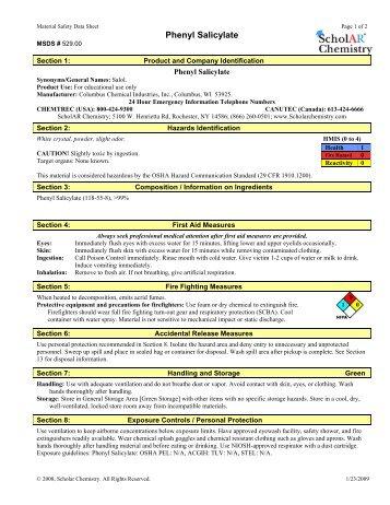 Phenyl Salicylate
