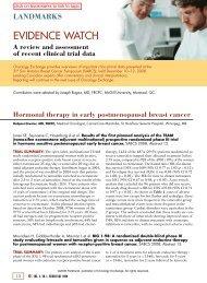 landmarks - Oncology Exchange