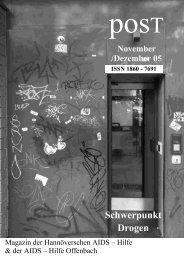 posT November Dezember 2005 - positiv schwul