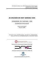 rapport (pdf, nieuw venster) - Instituut Samenleving en Technologie