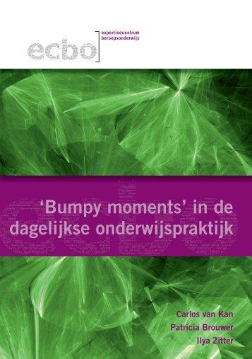 'Bumpy moments' in de dagelijkse onderwijspraktijk - Onderwijsraad