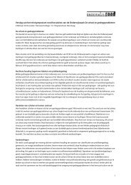 Verslag van het minisymposium rond het advies ... - Onderwijsraad