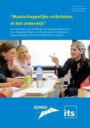 Integrale Tekst (pdf, 406kB) - Onderwijsraad