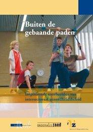 brochure 'Buiten de gebaande paden - Convenant Gezond Gewicht