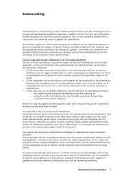 Samenvatting (pdf, 33kB) - Onderwijsraad