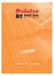 ONDULINE BT manual 2007