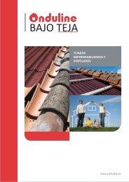 Catálogo placas asfálticas Bajo Teja