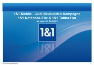 1&1 Tablet-Flats - One Pass GmbH