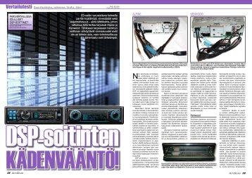 AutoSound lehden 2-2010 DSP-soittimien vertailu Alpine ... - One-Pro