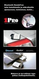 1PRO Bluetooth Handsfree esite - One-Pro