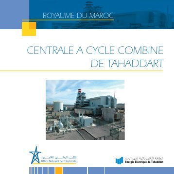 CENTRALE A CYCLE COMBINE DE TAHADDART - ONE