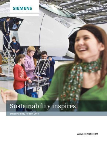 Siemens Sustainability Report 2011