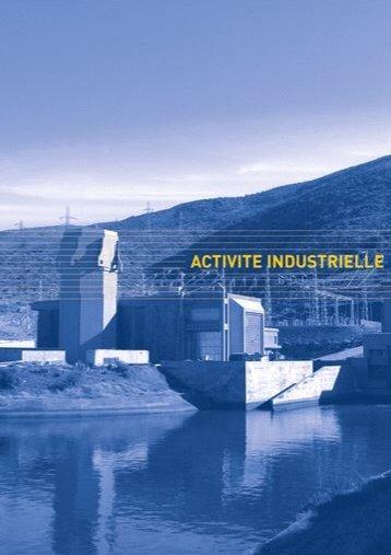 activite industrielle - ONE