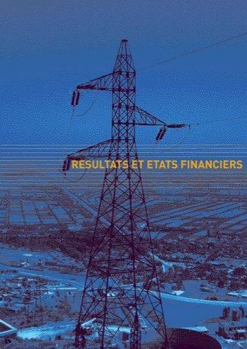 resultats et etat financiers - ONE