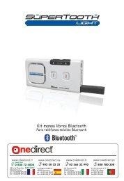 Page 1 Kit manos libres Bluetooth Para teléfonos móviles Bluetooth ...